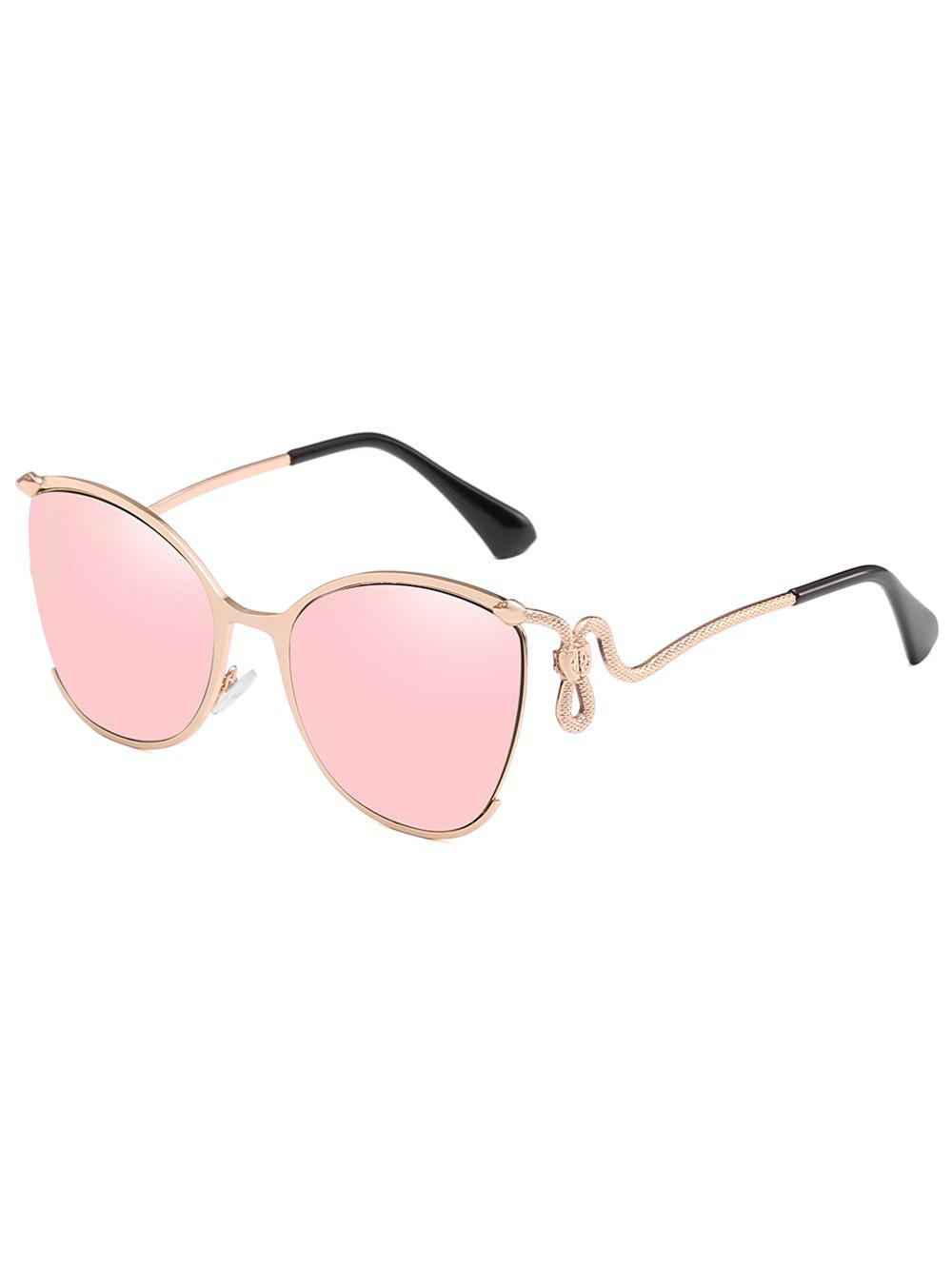 Hot Unique Half Frame Bent Legs Sunglasses