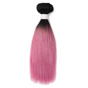 Gradient Straight Indian Human Hair Weft -