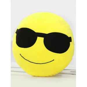 Smile Face Emoticon Pattern Pillowcase -