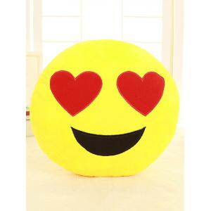 Smile Face Emoticon Pattern Taie d'oreiller -