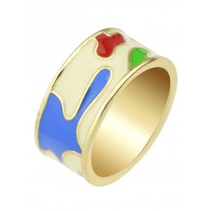 Flower Design Ring -