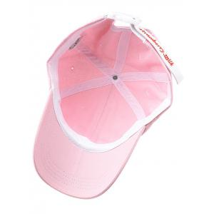 Cute Strawberry Embroidery Baseball Cap -