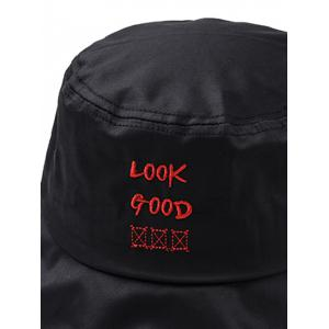 Outdoor Fun Letter Embroidery Fisherman Hat -