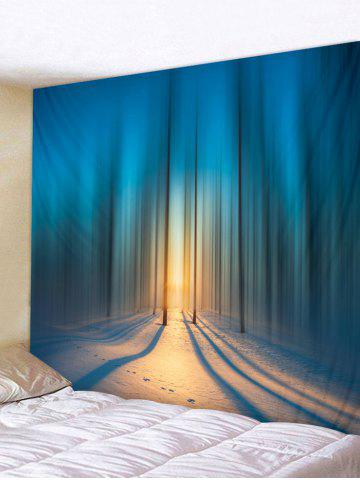 Buy Forest Snowfield Printed Wall Tapestry Hanging Decoration