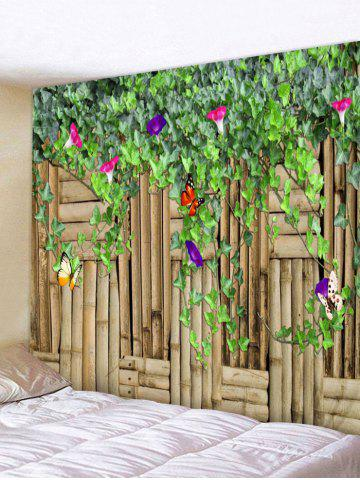 Buy Flower Vine Butterfly Printed Wall Tapestry Hanging Decoration