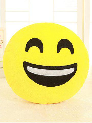 Buy Smile Face Emoticon Pattern Pillowcase