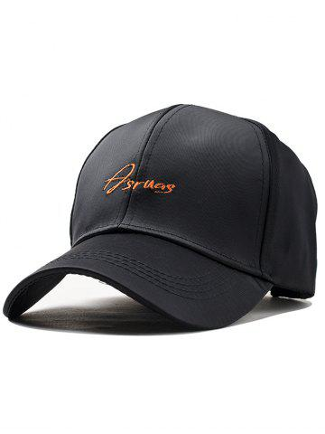 Latest Letter Embroidery Fully Adjustable Baseball Cap