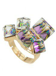 Artificial Gemstone Ring -