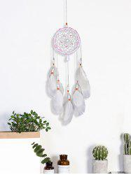 Feathers Beads Handmade Dream Catcher Wall Hanging -