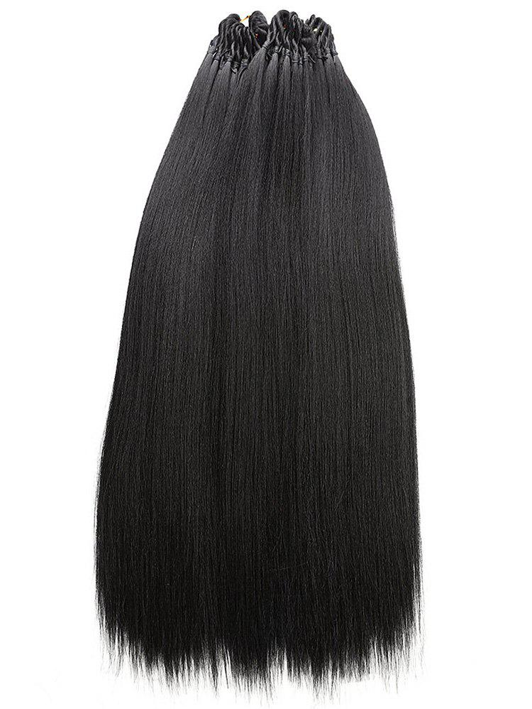 Trendy Long Straight 3Pcs Synthetic Hair Extensions