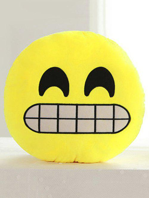 Affordable Smile Face Emoticon Pattern Pillowcase