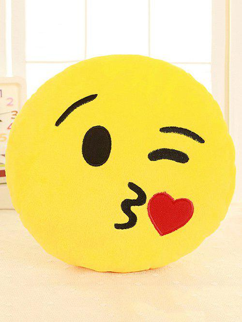 New Smile Face Emoticon Pattern Pillowcase