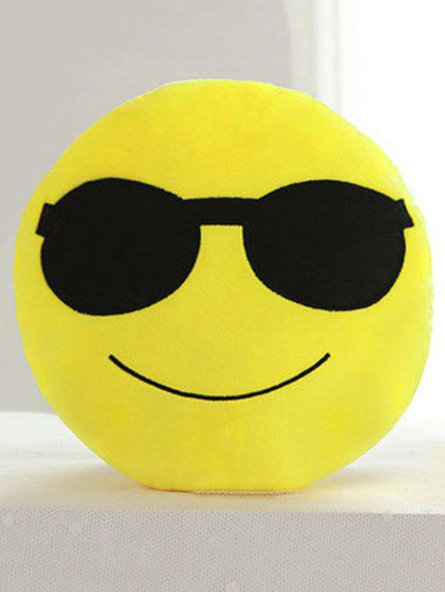 Discount Smile Face Emoticon Pattern Pillowcase
