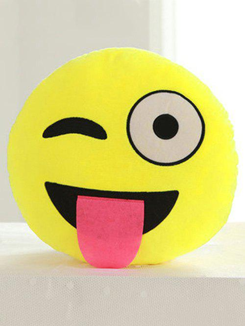 Best Smile Face Emoticon Pattern Pillowcase
