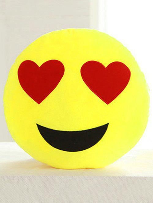 Online Smile Face Emoticon Pattern Pillowcase