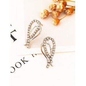 Rhinestone Inldai Water Drop Crystal Ожерелье и серьги Set -