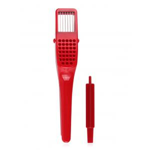 Garlic Press Slicer Ricer with Cleaning Tool -
