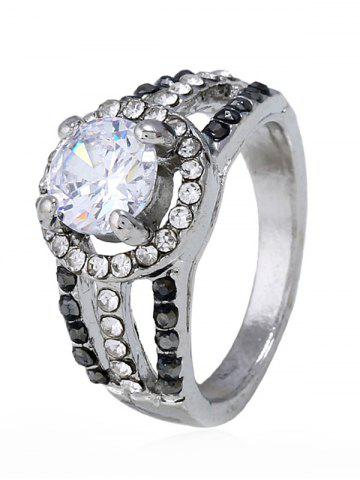 Outfit Rhinestone Decoration Hollow out Ring