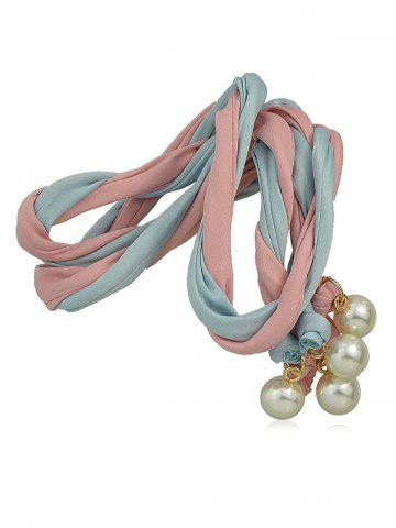 Faux Pearl Decoration Hair Band