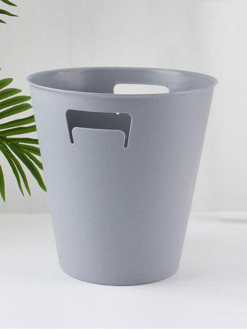 Outfits Durable Round Solid Color Trash Bin