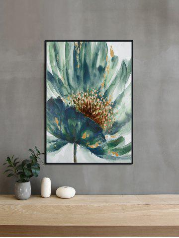Outfit DIY Frame Flower Printed Detachable Wall Painting