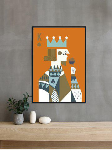 Online DIY Frame Abstract Printed Wall Painting