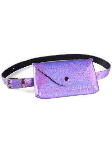 Unique Fanny Pack Faux cuir Skinny Belt Bag