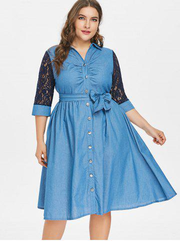 Denim Dress For Women Cheap Girls Sexy Long Denim Shirt Maxi Dress
