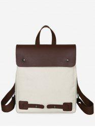 Casual Color Block All Purpose Vacation Backpack -