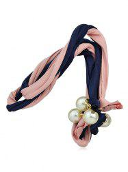 Faux Pearl Decoration Hair Band -