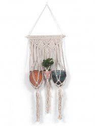 Macrame Plant Hanger Wall Decor for Potted Plant -