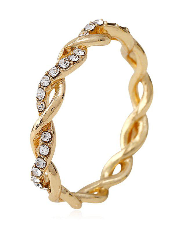 Best Rhinestone Decoration Twist Ring