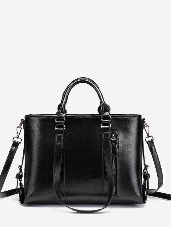 Unique Minimalist Practical PU Leather Chic Tote Bag