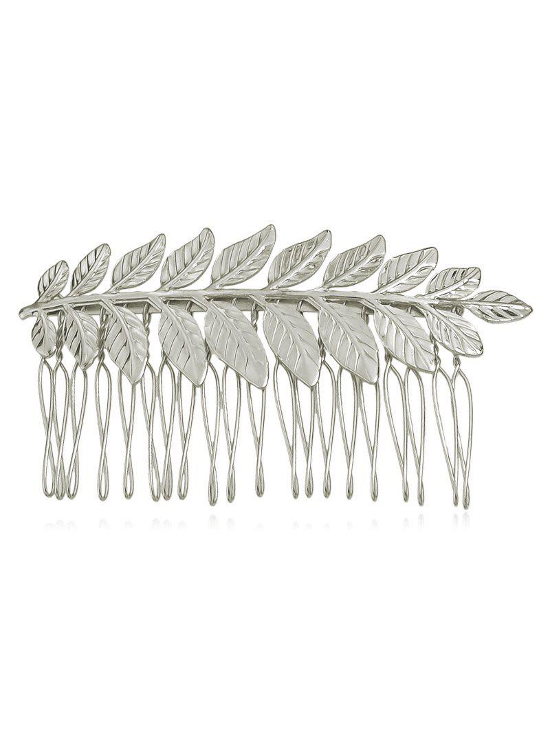 Outfit Leaf Shaped Hair Comb