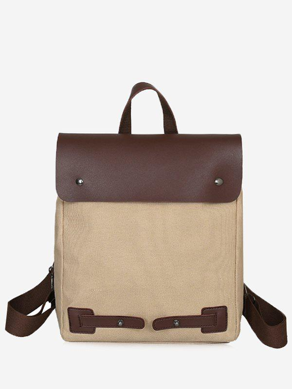 Chic Casual Color Block All Purpose Vacation Backpack