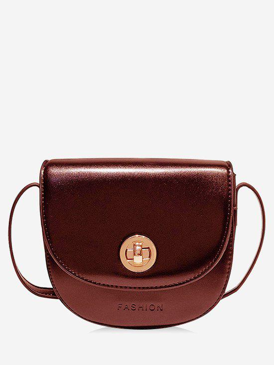 Outfits Faux Leather Chic Minimalist Stitches Crossbody Bag