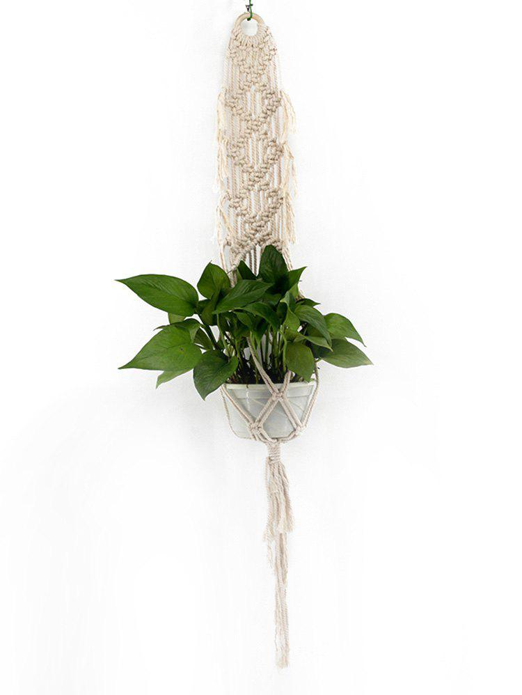 Unique Pot Holder Macrame Plant Hanger Rope Braided Craft
