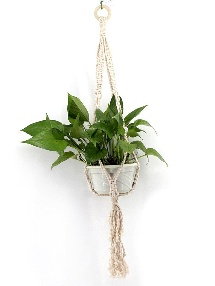 Chic Macrame Plant Hanger Rope Braided Craft for Plant Pots