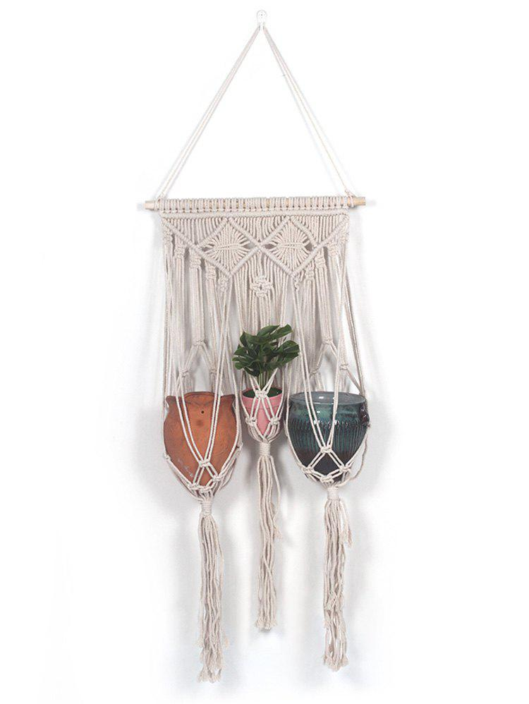 Discount Macrame Plant Hanger Wall Decor for Potted Plant