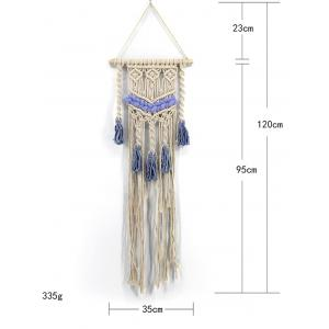 Bohemian Knitted Tassels Decoration Wall Tapestry -