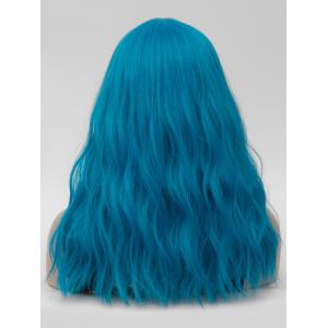 Long Center Parting Natural Wavy Cosplay Synthetic Wig -