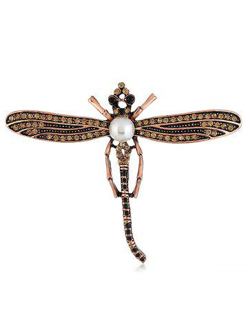 Discount Flying Dragonfly Decorative Scarf Brooch