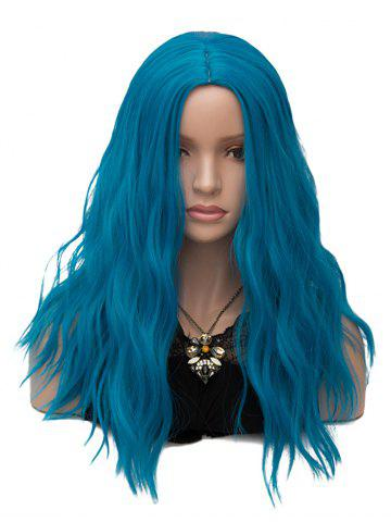 Outfit Long Center Parting Natural Wavy Cosplay Synthetic Wig