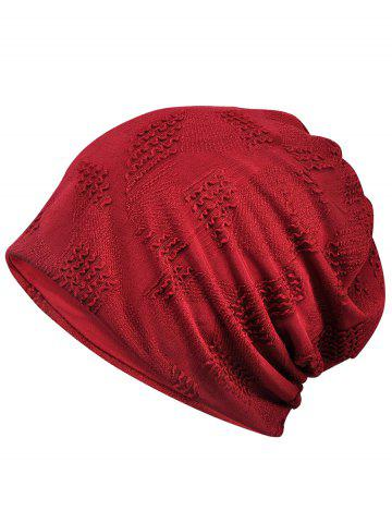 Hot Simple Solid Color Breathable Beanie Hat