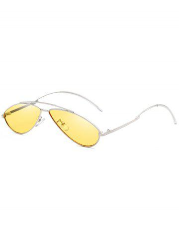 Buy Retro Irregular Lens Clear Lens Sunglasses