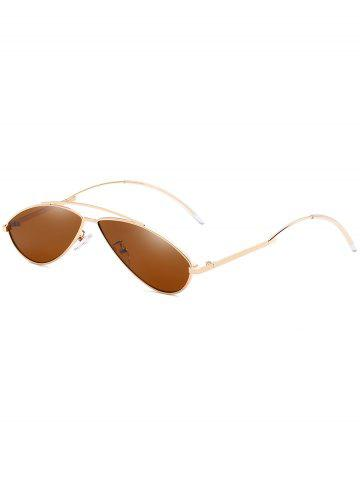 Shops Retro Irregular Lens Clear Lens Sunglasses