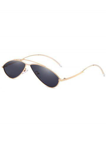 Outfit Retro Irregular Lens Clear Lens Sunglasses
