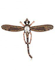 Flying Dragonfly Decorative Scarf Brooch -