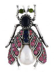 Цветной Rhinestone Inlaid Alloy Insect Pin Brooch -