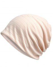 Vintage Solid Color Open Top Slouchy Beanie -
